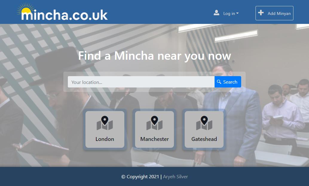 Mincha screen shot